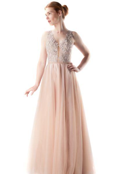 Abendkleid Mina (puder)