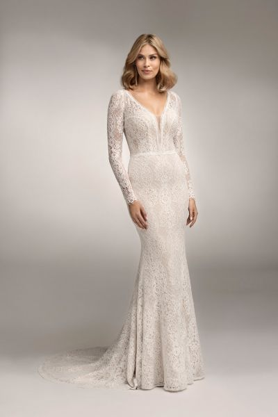 Hochzeitskleid Ava (ivory/ elfenbeinfarben)