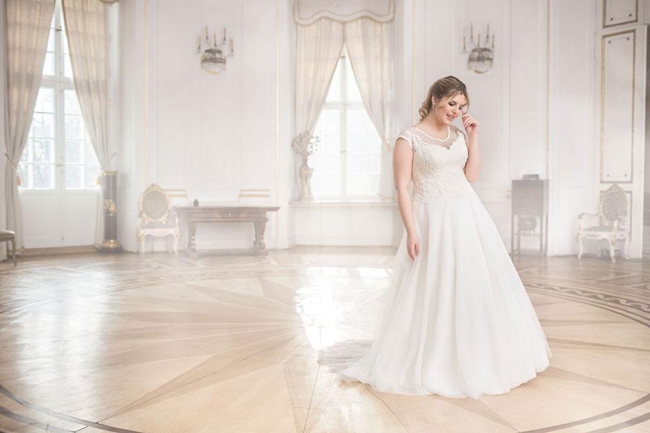 Brautkleid für Übergrössen