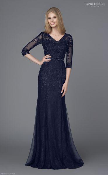 Abendkleid Madita (dunkelblau)