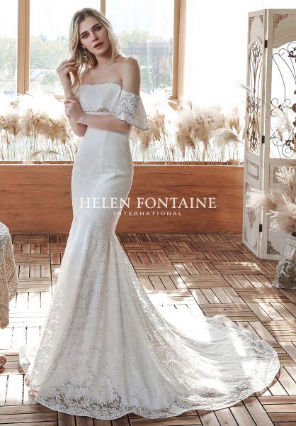 Brautkleid Heaven (elfenbeinfarben)
