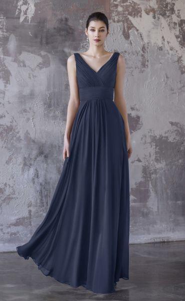 Abendkleid Valema (dunkelblau)