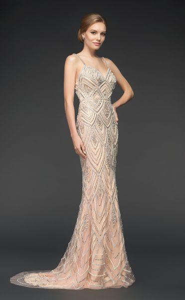 Abendkleid Lexi (champagner)