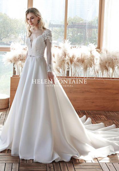 Brautkleid Halona (elfenbeinfarben)