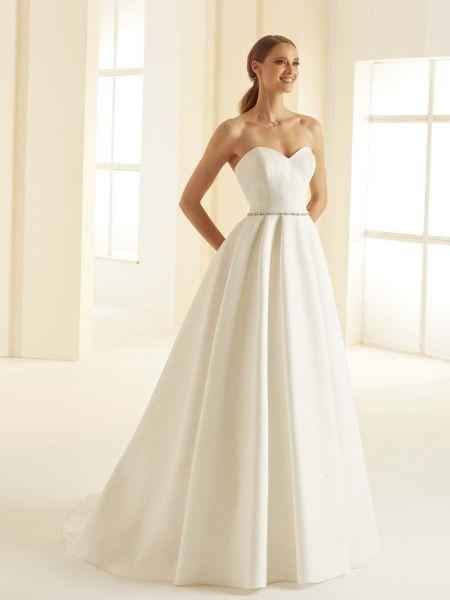Hochzeitskleid Isolde Gr.38 (elfenbeinfarben)