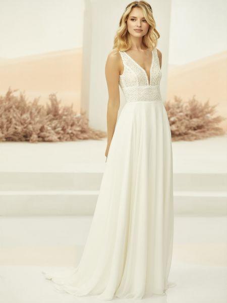 Hochzeitskleid Vivienne (elfenbeinfarben)