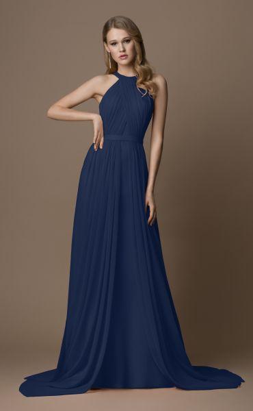 Abendkleid Malia (blau)