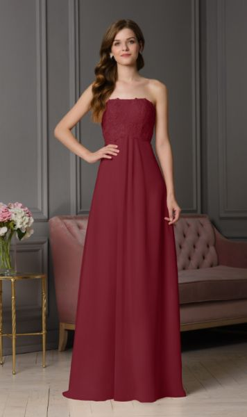 Abendkleid Estelle (bordaux)