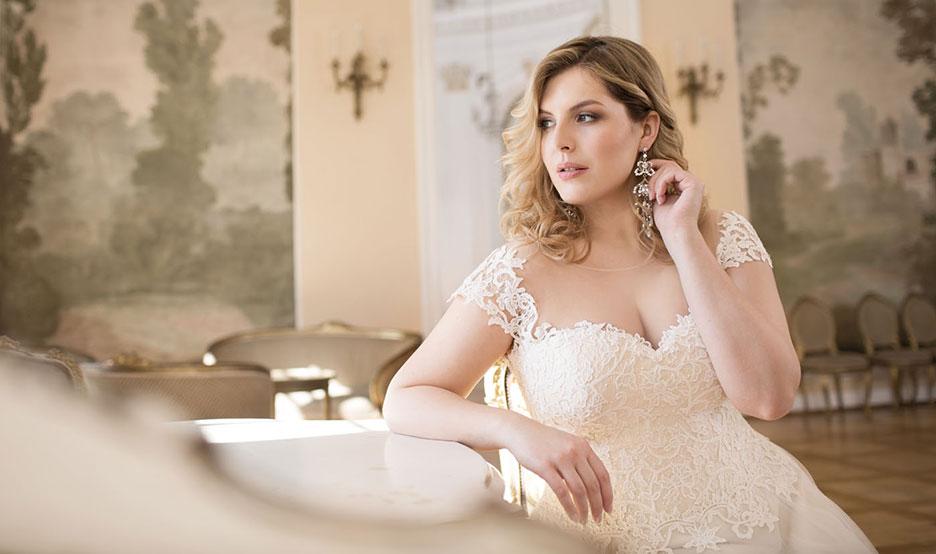 Brautkleid Lovely für grosse Grössen