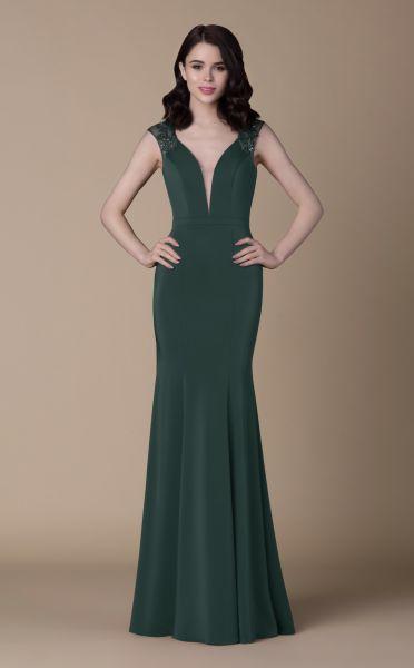 Abendkleid Vanja (dunkelgrün)