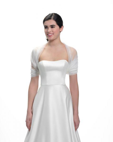 Tube-Stola für Brautkleider