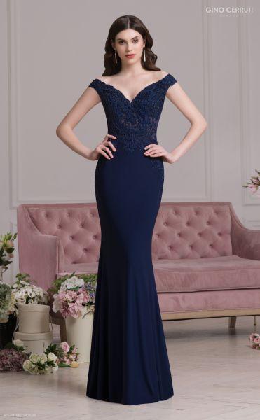 Abendkleid Verena (dunkelblau)