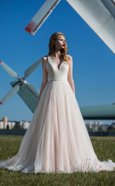 Brautkleid Rahel (blossom pink/ivory, ivory/ivory)