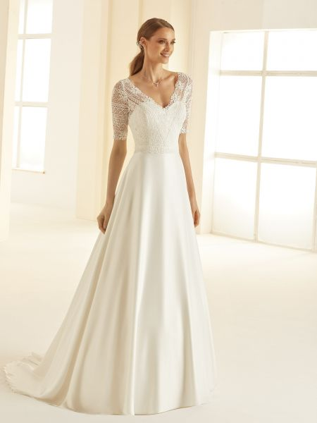 Hochzeitskleid Barbara (für grosse Grössen)