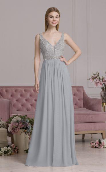 Abendkleid Peggy (silber)