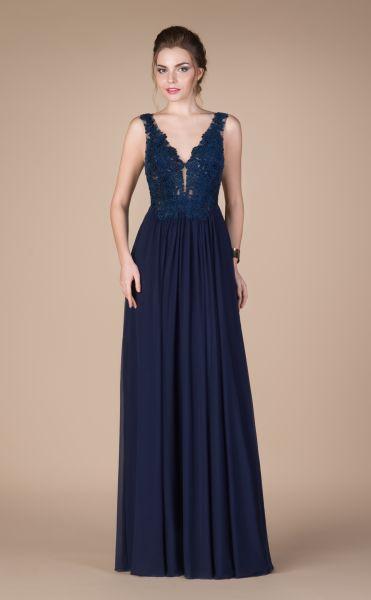 Abendkleid Naela (dunkelblau)