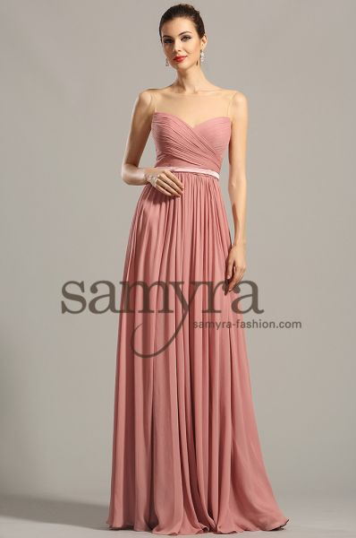 Abendkleid Sandy (in diversen Farben )