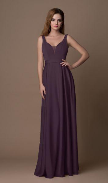 Abendkleid Timea (plum)