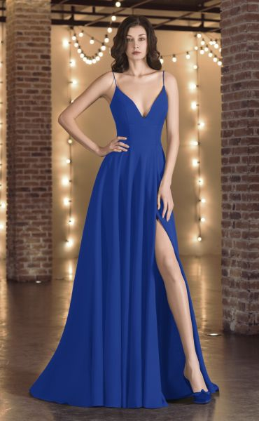 Abendkleid Vanity (königsblau)