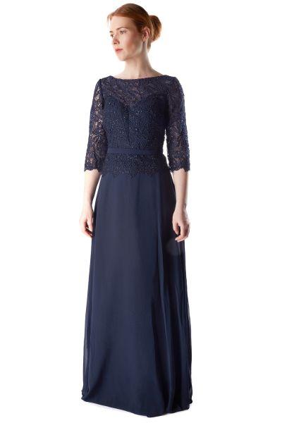 Abendkleid Livia (dunkelblau)