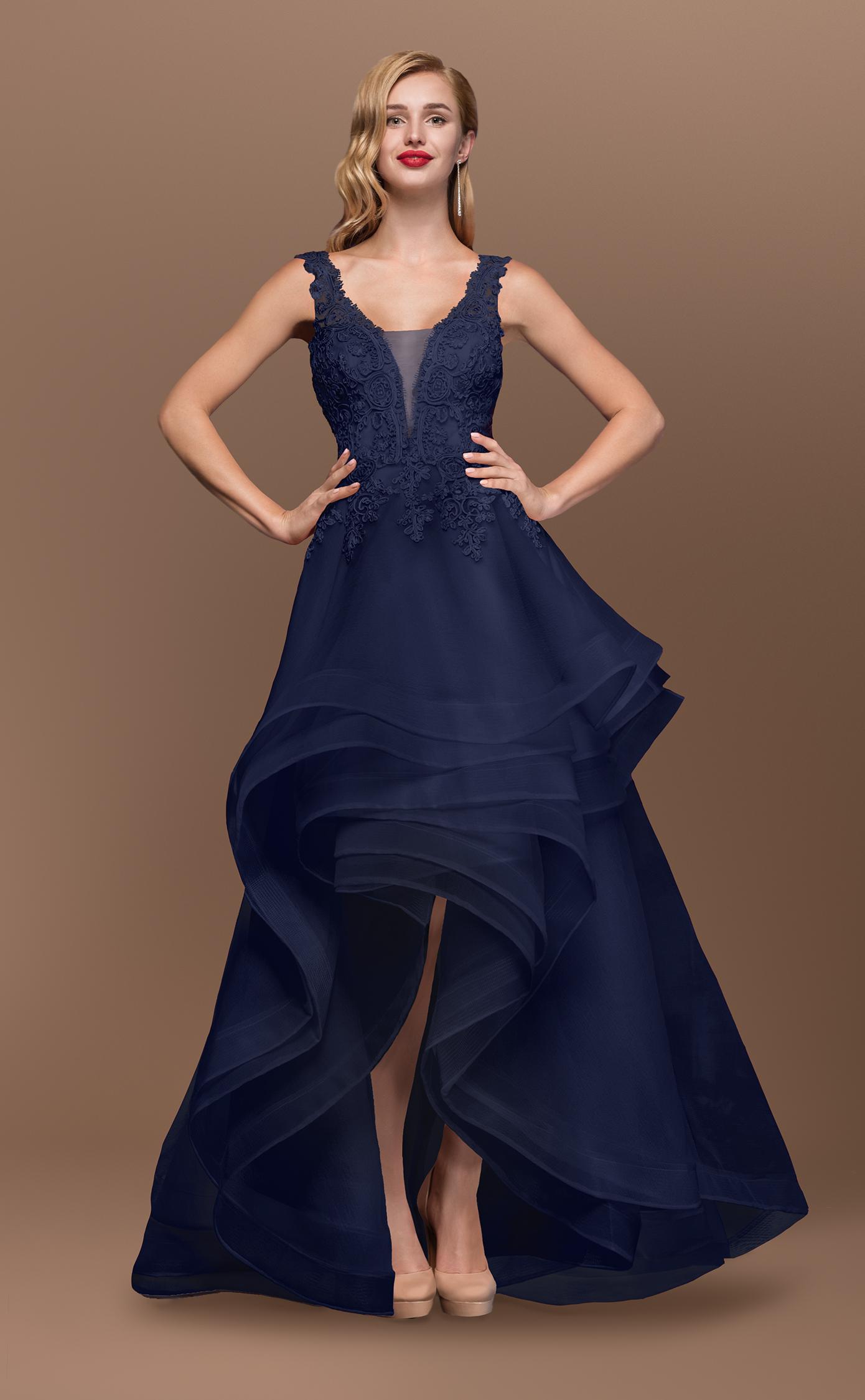 Blaues Ballkleid/Brautkleid | Samyra Fashion