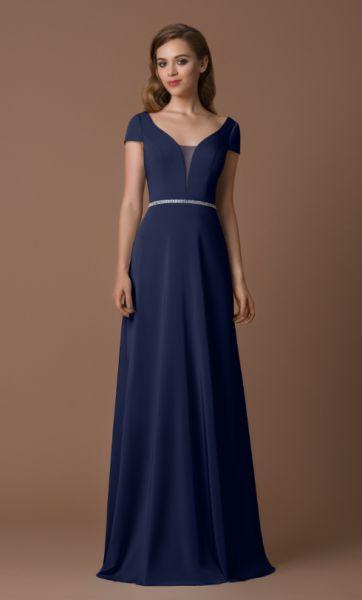 Abendkleid Rica (dunkelblau)