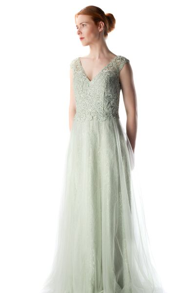 Abendkleid Mara (lindgrün)