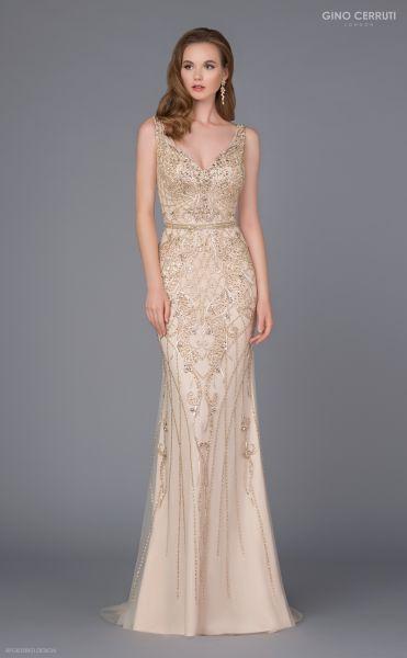 Abendkleid Rachel (champagner)