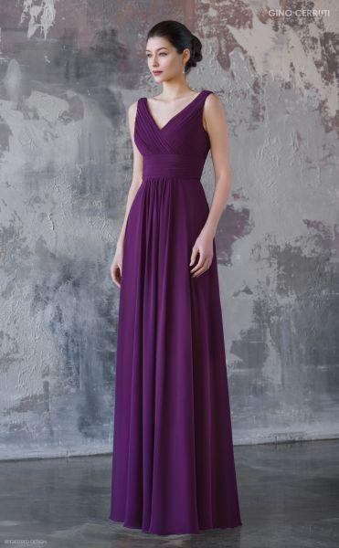 Abendkleid Valema (violett)