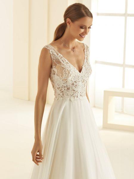 Hochzeitskleid Preciosa (elfenbeinfarben)