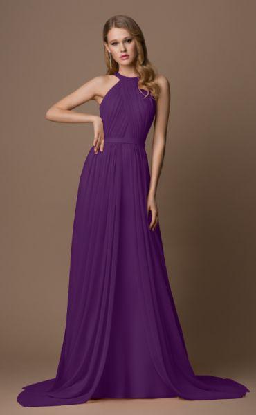 Abendkleid Malia (pflaume)