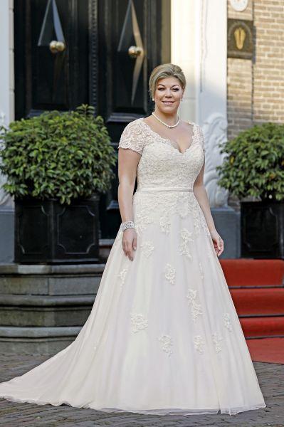 Brautkleid Pearl (blush/ ivory, elfenbeinfarben)