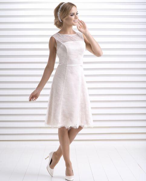 Hochzeitskleid Daisy (altrosa)