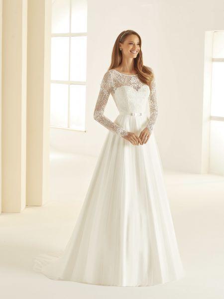 Hochzeitskleid Daniela (elfenbeinfarben)