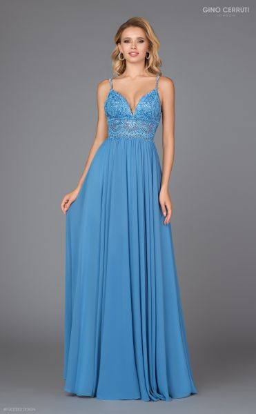 Abendkleid Zelda (ocean blue)
