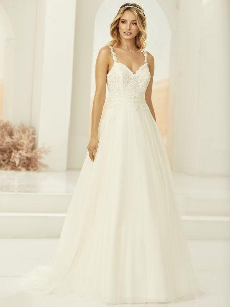 Hochzeitskleid Lovia (elfenbeinfarben)