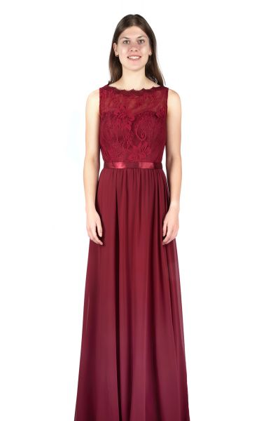 Abendkleid Bambi (bordeaux)