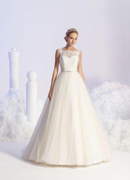 Brautkleid Eila Gr.38 von Elizabeth Passion (beige/ivory)