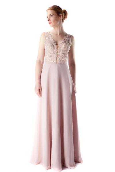 Abendkleid Mina (altrosa)