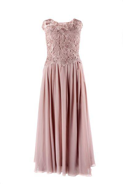 Abendkleid Luisa (mauve)