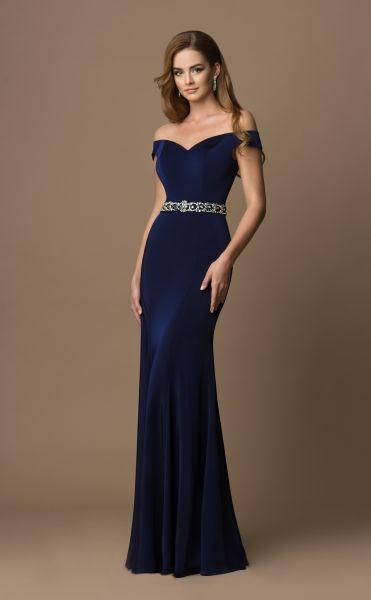 Abendkleid Jolina (dunkelblau)