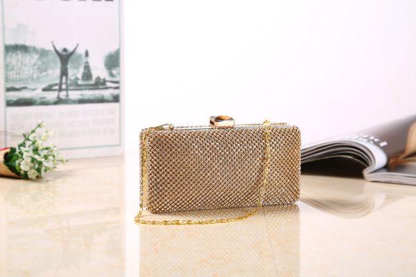 Goldfarbene Handtasche S-11083G