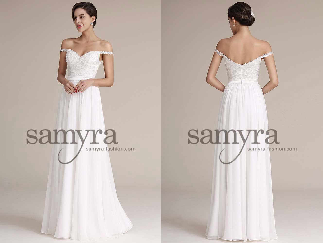 Brautkleider online bestellen  Samyra Fashion