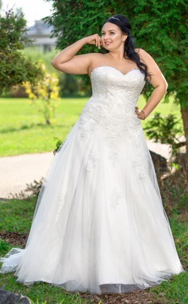 Brautkleid Rita (elfenbeinfarben)