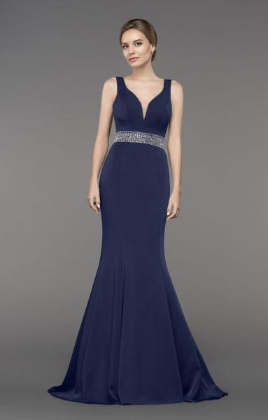 Abendkleid Gianna (dunkelblau)