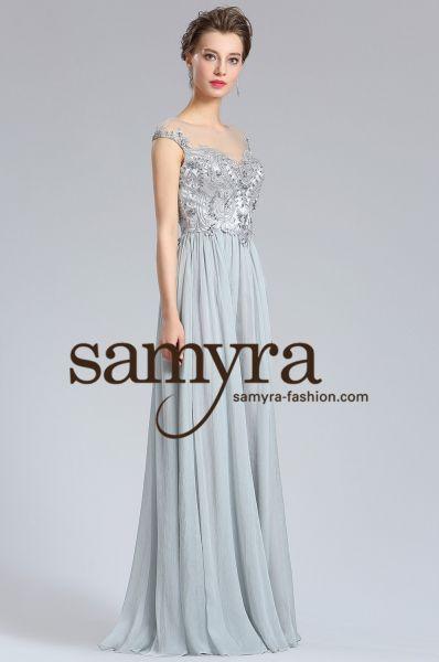 Abendkleid Alina (grau)