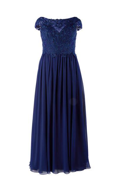 Abendkleid Elisa (dunkelblau)