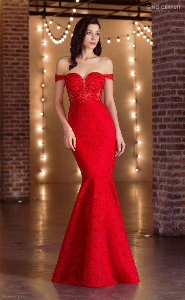 Abendkleid Penelope (rot)