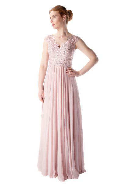 Abendkleid Marie (puderfarben)