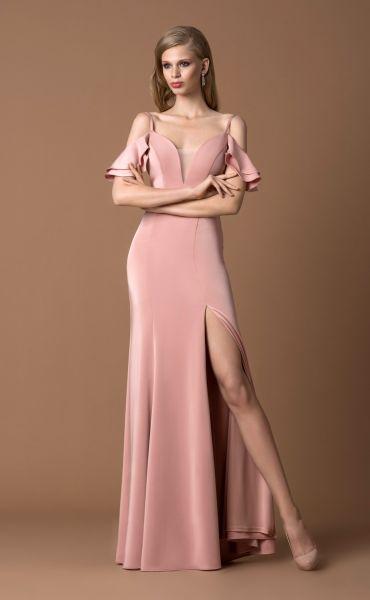 Abendkleid Jelena (altrosa)